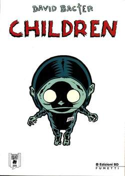Copertina LUCCA PROJECT CONTEST n.8 - 2016 - CHILDREN, BD EDIZIONI