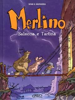 Copertina MERLINO n.1 - SALSICCIA E TARTINA, BD EDIZIONI