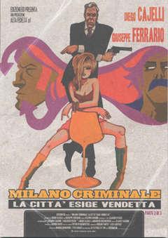 Copertina MILANO CRIMINALE 3 n.2 - LA CITTA' ESIGE VENDETTA, BD EDIZIONI
