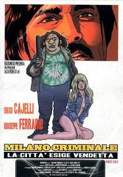 Copertina MILANO CRIMINALE 3 n.3 - LA CITTA' ESIGE VENDETTA, BD EDIZIONI