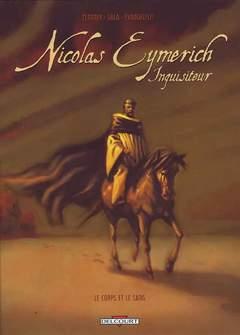 Copertina NICOLAS EYMERICH 2 COFANETTO n. - IL CORPO E IL SANGUE 1-2, BD EDIZIONI