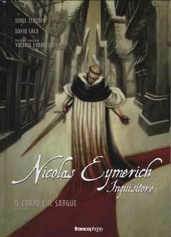 Copertina NICOLAS EYMERICH INQUISITORE n.3 - NICOLAS EYMERICH - IL CORPO E IL SANGUE 1 DI 2, BD EDIZIONI
