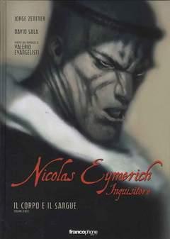 Copertina NICOLAS EYMERICH INQUISITORE n.4 - NICOLAS EYMERICH - IL CORPO E IL SANGUE 2 DI 2, BD EDIZIONI