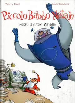 Copertina PICCOLO BABBO NATALE n.3 - CONTRO IL DOTTOR PERFIDIA, BD EDIZIONI