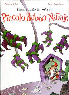 Copertina PICCOLO BABBO NATALE n.4 - HANNO RUBATO LA POSTA DI P.B.N., BD EDIZIONI