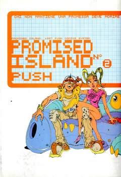 Copertina PROMISED ISLAND n.2 - CHI NON MANTIENE UNA PROMESSA DEVE MORIRE, BD EDIZIONI