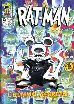Copertina RAT-MAN n.9 - RAT-MAN, BD EDIZIONI