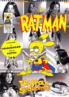 Copertina RAT MAN CALENDARIO 2001 n.0 - GATTA, BD EDIZIONI