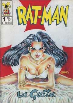 Copertina RAT-MAN n.4 - RAT-MAN                      4, BD EDIZIONI