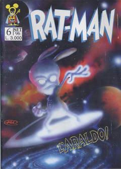 Copertina RAT-MAN n.6 - RAT-MAN                      6, BD EDIZIONI