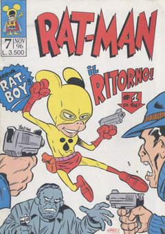 Copertina RAT-MAN n.7 - RAT-MAN                      7, BD EDIZIONI