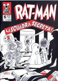 Copertina RAT-MAN n.8 - RAT-MAN                      8, BD EDIZIONI