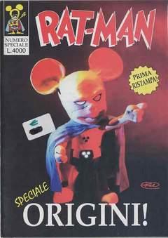 Copertina RAT-MAN SPECIALE ORIGINI RISTA n.0 - RAT-MAN SPECIALE ORIGINI RISTA, BD EDIZIONI