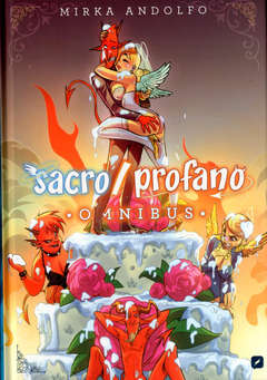 Copertina SACRO/PROFANO OMNIBUS n.1 - SACRO/PROFANO OMNIBUS, BD EDIZIONI