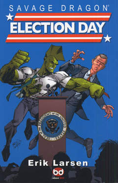 Copertina SAVAGE DRAGON STAG.III n.4 - ELECTION DAY, BD EDIZIONI