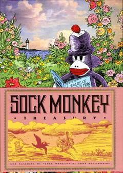 Copertina SOCK MONKEY TREASURY n.0 - SOCK MONKEY - TREASURY, BD EDIZIONI