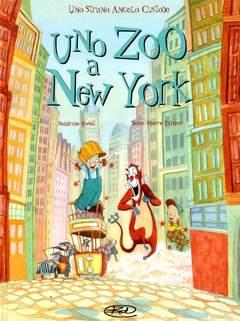 Copertina STRANO ANGELO CUSTODE n.2 - ZOO A NEW YORK, BD EDIZIONI