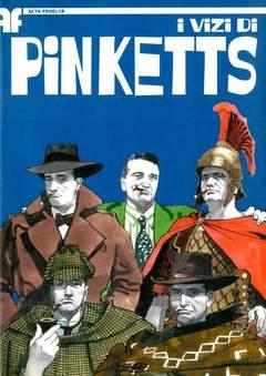 Copertina VIZI DI PINKETTS (I) n.0 - VIZI DI PINKETTS, BD EDIZIONI
