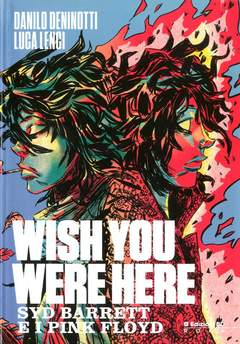 Copertina WISH YOU WERE HERE n.0 - SYD BARRET E I PINK FLOYD, BD EDIZIONI