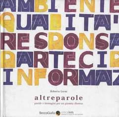 Copertina ALTREPAROLE n.0 - ALTREPAROLE, BECCO GIALLO