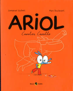Copertina ARIOL n.2 - CAVALIER CAVALLO, BECCO GIALLO