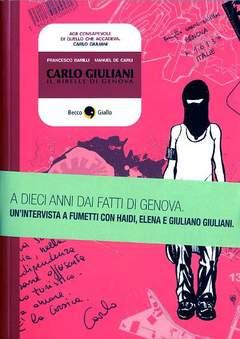 Copertina CARLO GIULIANI n.0 - CARLO GIULIANI, BECCO GIALLO