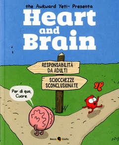 Copertina HEART AND BRAIN n. - HEART AND BRAIN, BECCO GIALLO