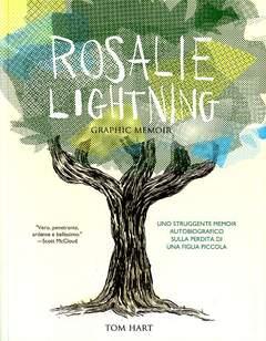 Copertina ROSALIE LIGHTNING n. - A GRAPHIC MEMOIR, BECCO GIALLO