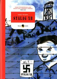 Copertina STALAG X-B n.0 - STALAG X-B, BECCO GIALLO