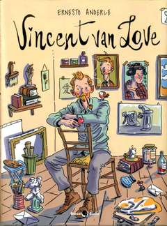 Copertina VINCENT VAN LOVE n. - VINCENT VAN LOVE, BECCO GIALLO