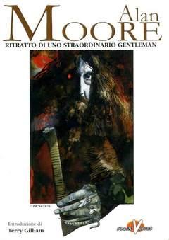 Copertina ALAN MOORE n.2 - RITRATTO DI UNO STRAORDINARIO GENTLEMAN, BLACK VELVET