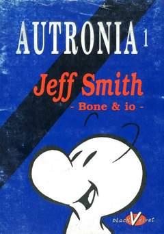Copertina AUTRONIA n.1 - JEFF SMITH: BONE & IO, BLACK VELVET