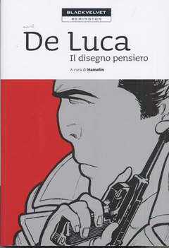 Copertina DE LUCA n.0 - IL DISEGNO PENSIERO, BLACK VELVET