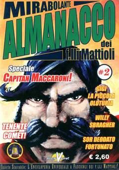 Copertina MIRABOLANTE ALMANACCO n.2 - MIRABOLANTE ALMANACCO DEI    2, BLACK VELVET