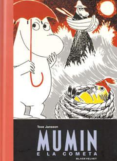 Copertina MUMIN n.4 - MUMIN E LA COMETA, BLACK VELVET