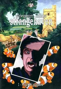 Copertina STRANGEHAVEN n.1 - FIGLI DEL GIAGUARO, BLACK VELVET