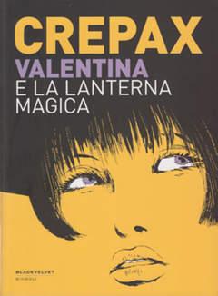 Copertina VALENTINA n.1 - VALENTINA E LA LANTERNA MAGICA, BLACK VELVET