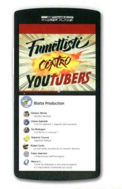 Copertina FUMETTISTI CONTRO YOUTUBERS n. - FUMETTISTI CONTRO YOUTUBERS, BLATTA PRODUCTION