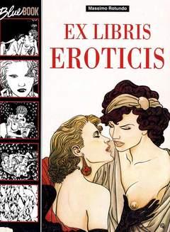 Copertina BLUE BOOK n.2 - EX LIBRIS EROTICIS, BLUE PRESS