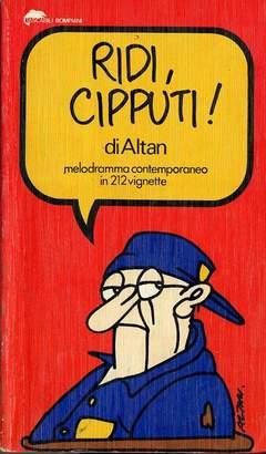 Copertina CIPPUTI RIDI n. - Melodramma contemporaneo in 212 vignette, BOMPIANI EDITORE