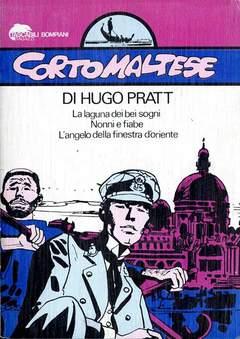 Copertina CORTO MALTESE TASCABILE n.5 - LA LAGUNA DEI BEI SOGNI/NONNI E FIABE, BOMPIANI EDITORE