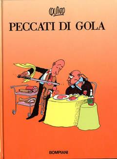 Copertina PECCATI DI GOLA n. - PECCATI DI GOLA, BOMPIANI EDITORE