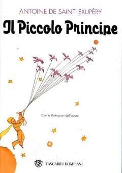 Copertina PICCOLO PRINCIPE tascabile n. - IL PICCOLO PRINCIPE, BOMPIANI EDITORE