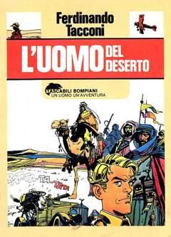 Copertina UOMO DEL DESERTO n. - L'UOMO DEL DESERTO, BOMPIANI EDITORE