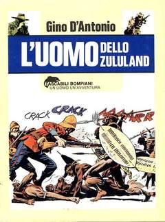 Copertina UOMO DELLO ZULULAND n. - L'UOMO DELLO ZULULAND, BOMPIANI EDITORE