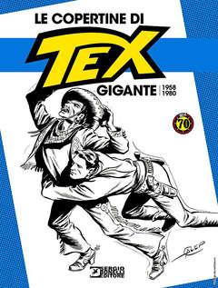 Copertina COPERTINE DI TEX GIGANTE (m3) n.1 - 1958-1980, BONELLI EDITORE LIBRERIA