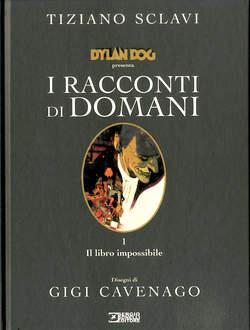 Copertina RACCONTI DI DOMANI n.1 - IL LIBRO IMPOSSIBILE, BONELLI EDITORE LIBRERIA