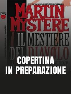 Copertina ROMANZI DI MARTIN MYSTERE n.3 - Il mestiere del diavolo, BONELLI EDITORE LIBRERIA