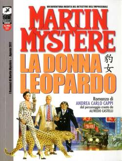 Copertina ROMANZI DI MARTIN MYSTERE n.1 - LA DONNA LEOPARDO, BONELLI EDITORE LIBRERIA