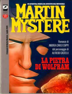Copertina ROMANZI DI MARTIN MYSTERE n.4 - LA PIETRA DI WOLFRAM, BONELLI EDITORE LIBRERIA